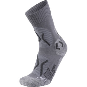 UYN Trekking Cool Merino Socks Women Light Grey Melange/Pearl Grey